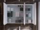 Зеркальный шкафчик JUVENTA Savona SvM-100 белый 3