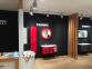Тумба с умывальником BOTTICELLI Vanessa Vndl-110 левая красная 2