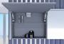 Зеркальный шкафчик BOTTICELLI Rimini UМC - 130 1