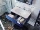 Тумба с умывальником BOTTICELLI Velluto VLT-100 синяя 4
