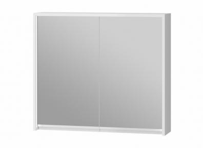 Зеркальный шкафчик JUVENTA Savona SvM-80 белый