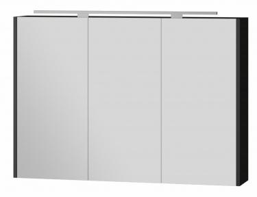 Зеркальный шкафчик BOTTICELLI Vanessa VnM - 100 черный