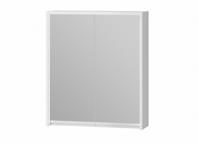 Зеркальный шкафчик JUVENTA Savona SvM-60 белый