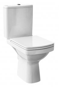 Компакт EASY 011 3/5 Cersanit, з сидінням дюропластовим антибактеріальним,вільнопадаючим, легкознімним