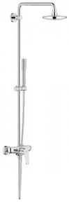 23 058 002 Eurodisc Cosmopolitan System 180 Душевая система с однорычажным смесителем настенного монтажа