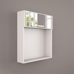 Зеркальный шкафчик ШЗ 260 белый