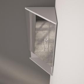 Зеркальный шкафчик ШЗ 315 белый