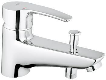 33 614 001 Eurostyle Смеситель однорычажный для ванны