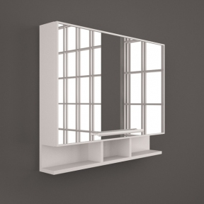 Зеркальный шкафчик ШЗ 4940