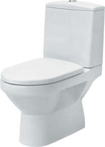 Компакт OLIMPIA універсальний 010/020 Cersanit з дюропластовим антибактеріальним сидінням