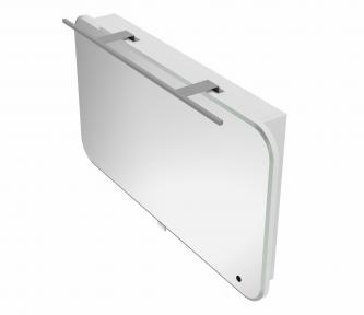 Зеркальный шкафчик BOTTICELLI Velluto VltMC -100 белый