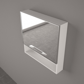 Зеркальный шкафчик ШЗ 9450 белый