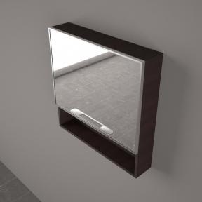 Зеркальный шкафчик ШЗ 9450 венге