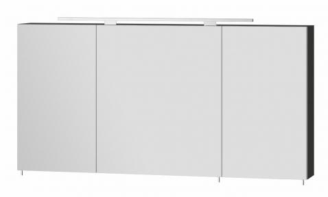 Зеркальный шкафчик BOTTICELLI Vanessa VnM - 120 черный