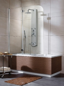 Шторка для ванной Eos-PN