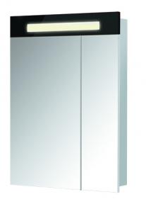 Зеркальный шкаф ПАРИЖ ЗШ-60 Черный