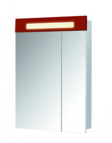 Зеркальный шкаф ПАРИЖ ЗШ-60 Красный