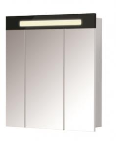 Зеркальный шкаф ПАРИЖ ЗШ-80 Черный