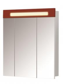 Зеркальный шкаф ПАРИЖ ЗШ-80 Красный