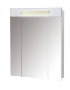Зеркальный шкаф ПАРИЖ ЗШ-80 Белый