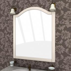 Зеркало Аква люкс 100 выбеленный ясень