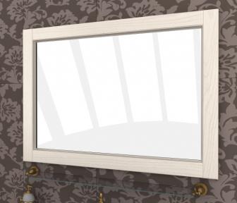 Зеркало Аква люкс 105 выбеленный ясень