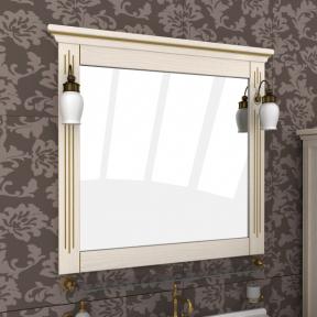 Зеркало Аква 107 выбеленный ясень