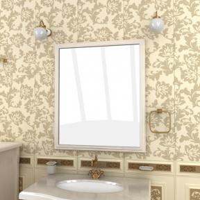 Зеркало Аква-люкс 80 выбеленный ясень