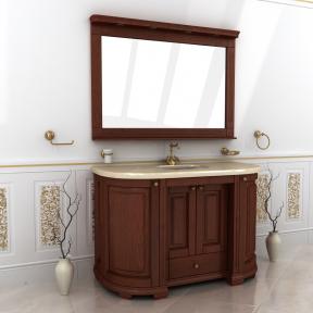 Зеркало Мрамор 145 натуральный ясень