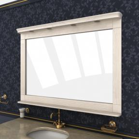 Зеркало Мрамор 145 выбеленный ясень