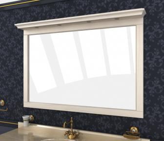 Зеркало Мрамор 150 выбеленный ясень