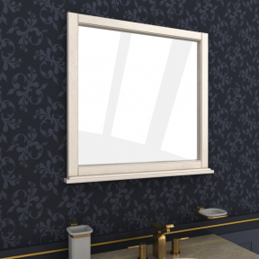 Зеркало Мрамор 70 выбеленный ясень