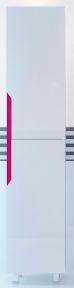 Пенал Леос 40 Кварта-Техно розове R