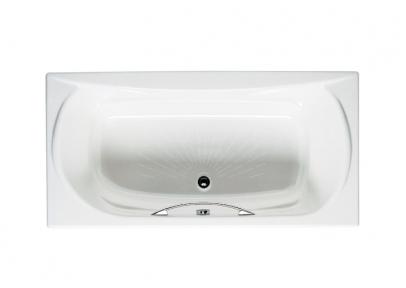 AKIRA ванна 170x85см с ручками и подголовником