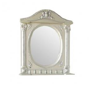 Зеркало Наполеон-175 белый жемчуг