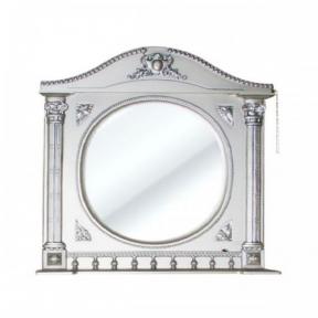 Зеркало Наполеон-195 белый жемчуг