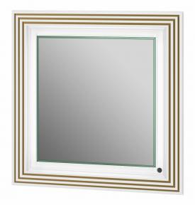 Зеркало BOTTICELLI TREVISO ТM -80 белый медь