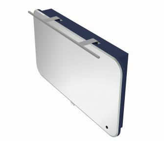 Зеркальный шкафчик BOTTICELLI Velluto VltMC -100 синий