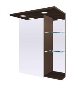 Зеркальный шкафчик MC-8 (ШЗ-8) Fancy Marble (Буль-Буль) венге