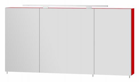 Зеркальный шкафчик BOTTICELLI Vanessa VnM - 120 красный