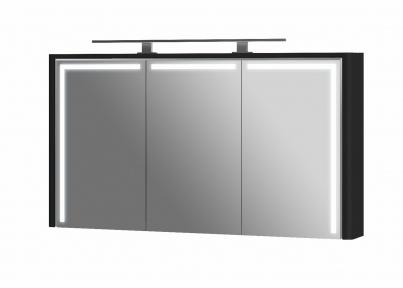 Зеркальна шафа BOTTICELLI Levanto LvM-128 черный