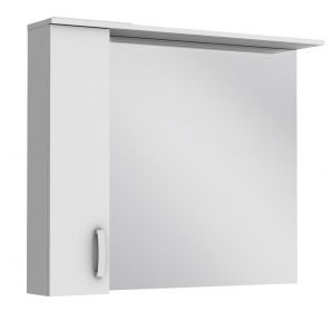 Зеркало JUVENTA Trento TrnM-100 белое (левое)