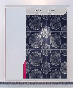 Зеркало Леос Z1-60 Кварта-Техно розове  L