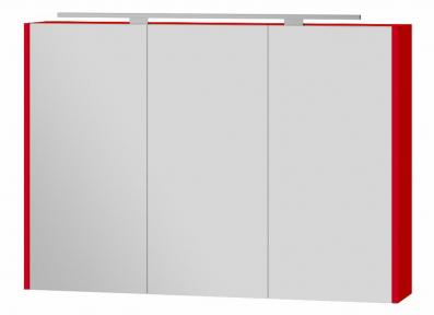 Зеркальный шкафчик BOTTICELLI Vanessa VnM - 100 красный