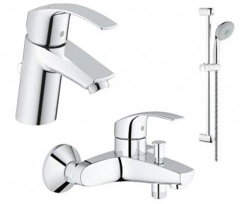 Eurosmart Набор смесителей для ванны (33265002+33300002+27927000)