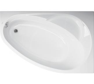 Ванна  FLORA левая Vagnerplast
