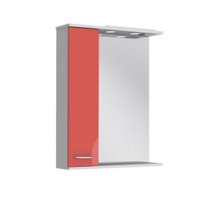 Зеркало Франческа ФШНЗ2-65 красное (левое)
