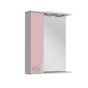 Зеркало Франческа ФШНЗ2-65 розовое (левое)