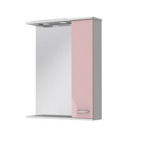 Зеркало Франческа ФШНЗ2-65 розовое (правое)