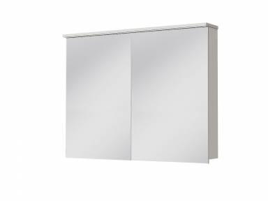 Зеркальный шкафчик JUVENTA Мonza MnMC-100 белый